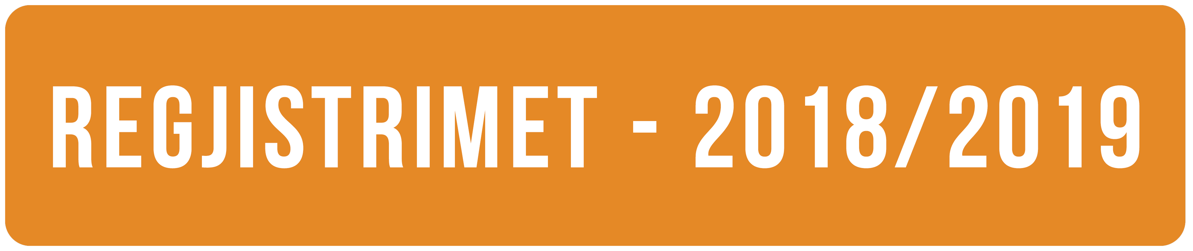 Rregjistrimet - 2018/2019
